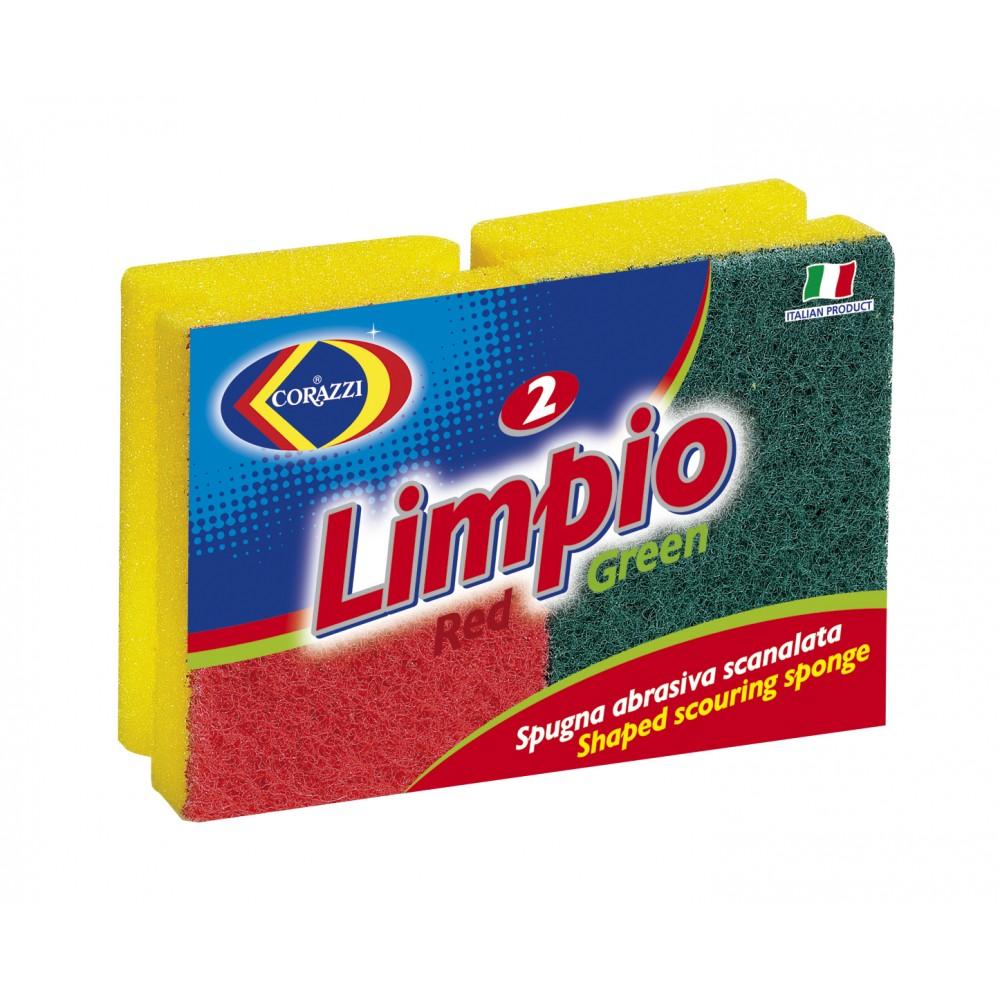 2 Σφουγγάρια Limpio - Corazzi