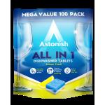 Astonish 100 Ταμπλέτες Πλυντηρίου Πιάτων - mega value pack