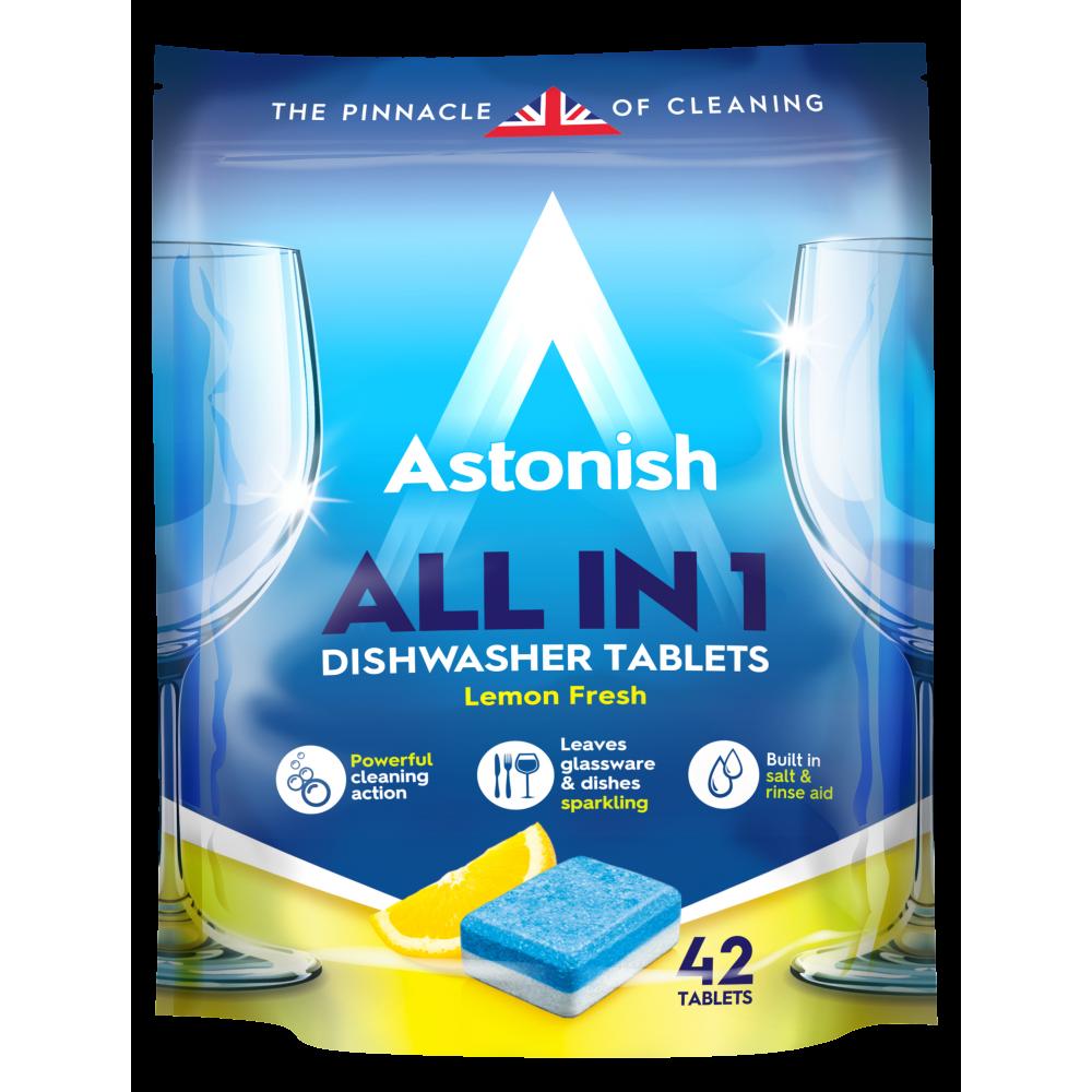 Astonish 42 Ταμπλέτες Πλυντηρίου Πιάτων