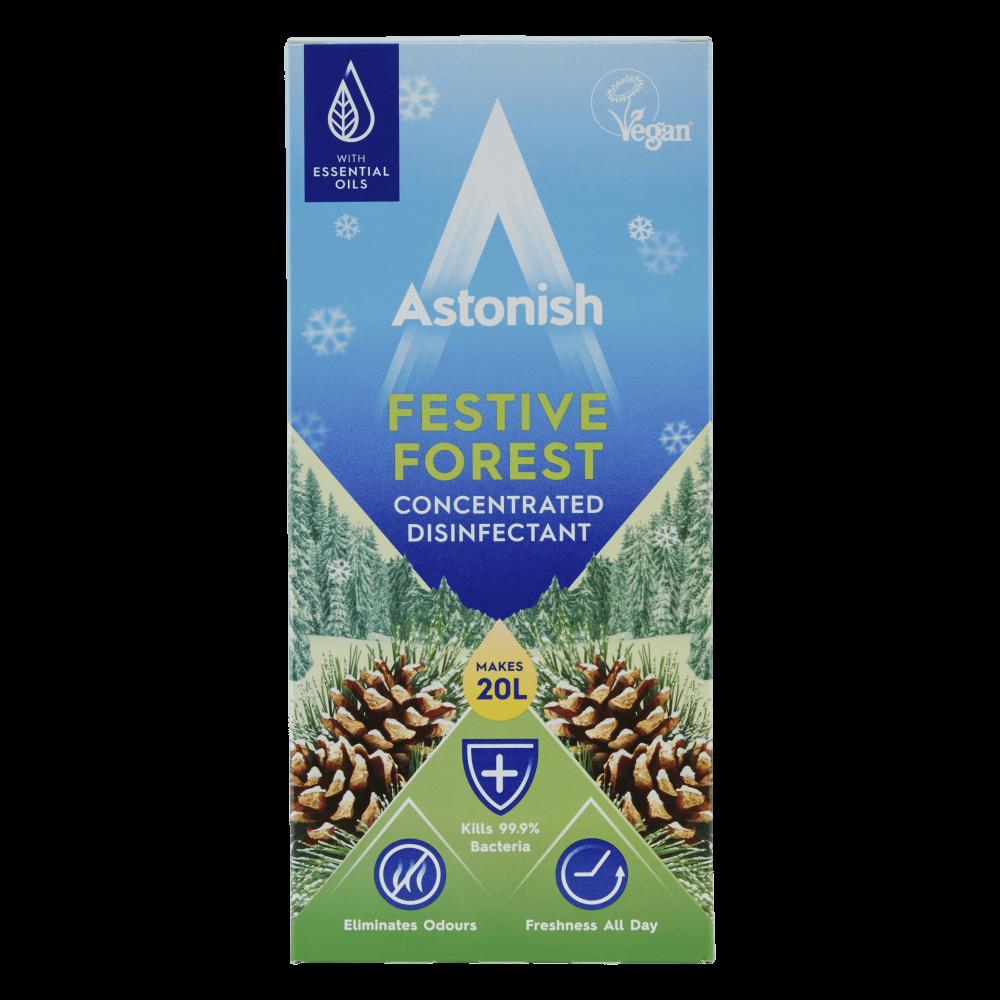 Astonish ΥπερΣυμπυκνωμένο Απολυμαντικό Εορταστικό Δάσος 500ml