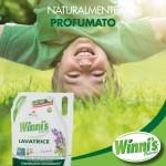 Winni's  Μαλακτικό Οικολογική Συσκευασία με Ηλιοτρόπιο & Λευκό Μόσχο 1,470 L - 42 Μεζούρες