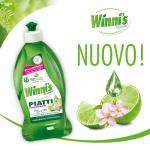Winni's απορρυπαντικό για πιάτα με λάϊμ